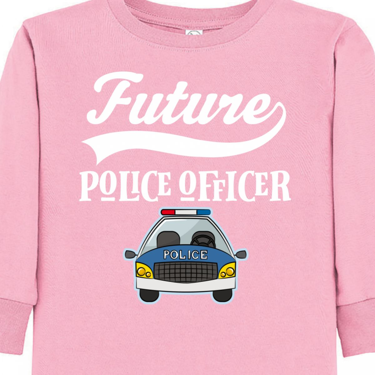 Inktastic Future Police Officer T Toddler Long Sleeve T