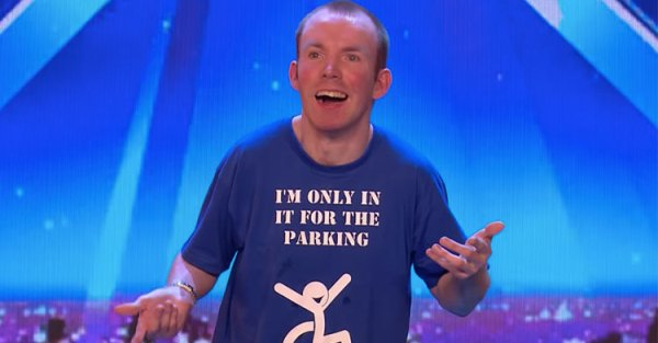 Comedian With Cerebral Palsy 'Britain's Got Talent ...