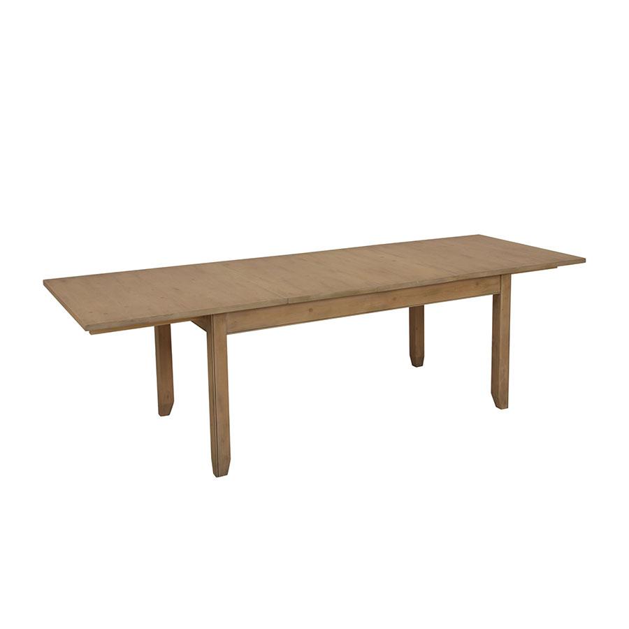 table a manger extensible en epicea 10 a 12 personnes first