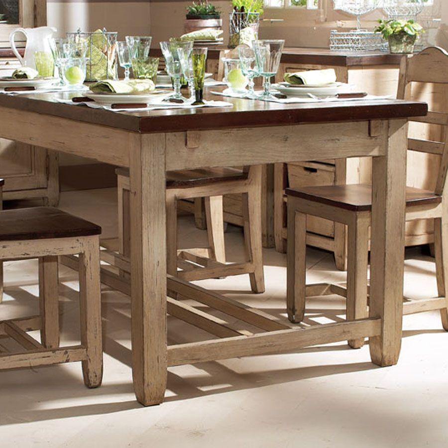 table extensible en pin 8 a 10 personnes brocante