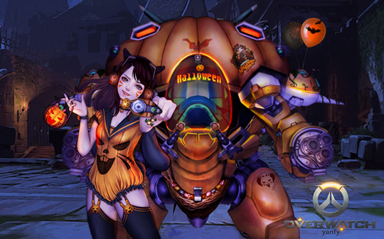 Overwatch Halloween DVA Inven Global