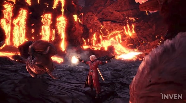Monster Hunter World Dante Is Here To Hunt Down Some