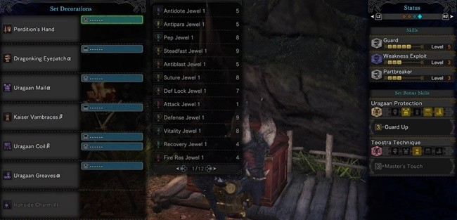 Guard 3 Or 5 Mhw