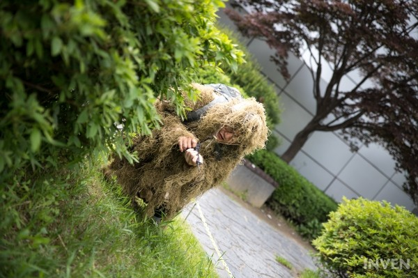A Ghillie Suit For Real A Surprise Gift From Miramar