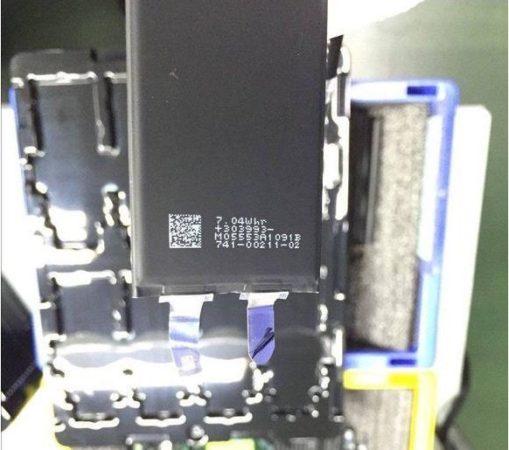 Fuite Batterie iPhone 7