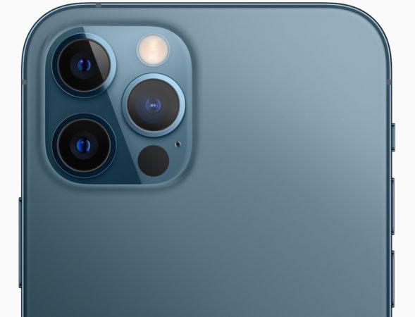 Fotocamere ufficiali posteriori per iPhone 12 Pro