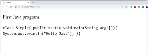 HTML Phrase tag