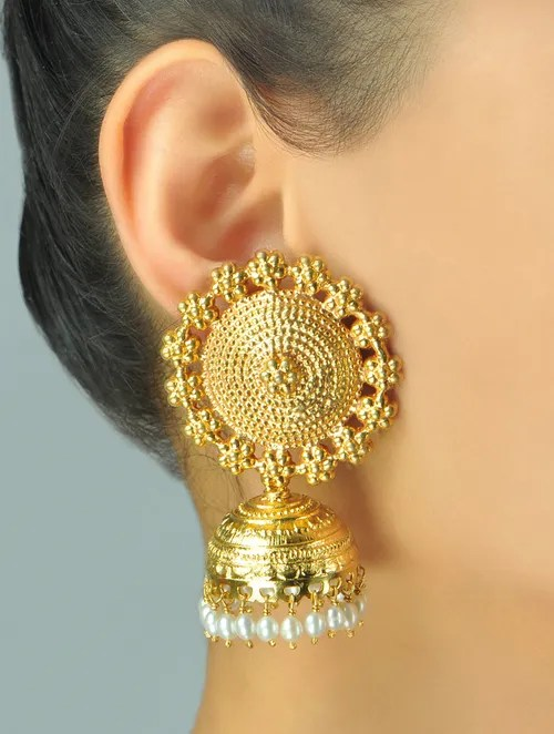 Buy Surya Jhumka Earrings Online At