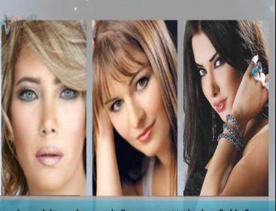 شاهد بالفيديو الفنانات السوريات قبل وبعد عمليات التجميل