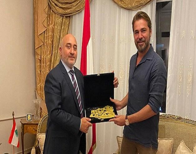 """""""أرطغرل"""" يتضامن مع ضحايا مرفأ بيروت"""