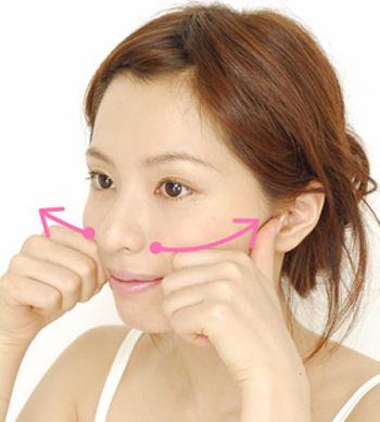 簡單瘦臉按摩操 雕塑完美尖臉(圖)