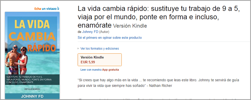 Johnny Jen ebook in spanish for blog monetization strategies