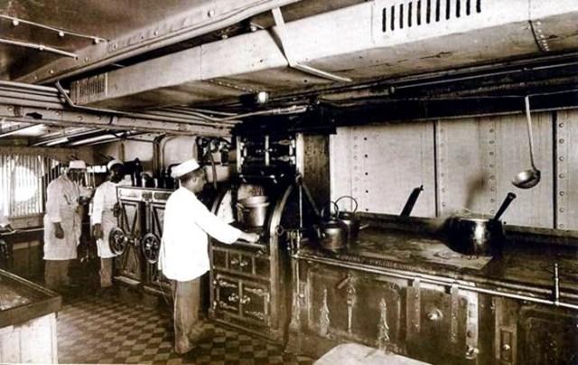 A cozinha do Príncipe de Astúrias (Imagem: Google Imagens)