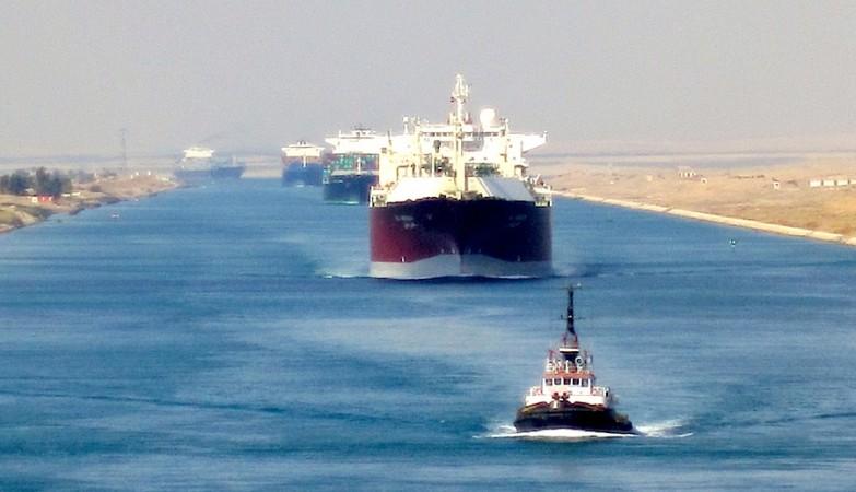 Rotas Marítimas I - Canal de Suez