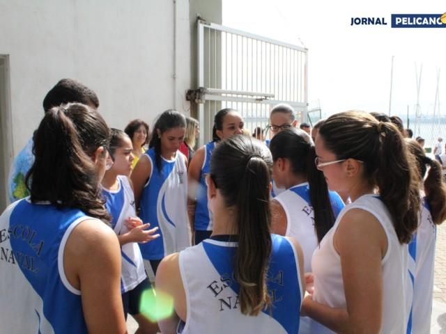 Alunas da EN reunidas depois da competição. (Foto: Al. Ricardo Jesus / Jornal Pelicano)