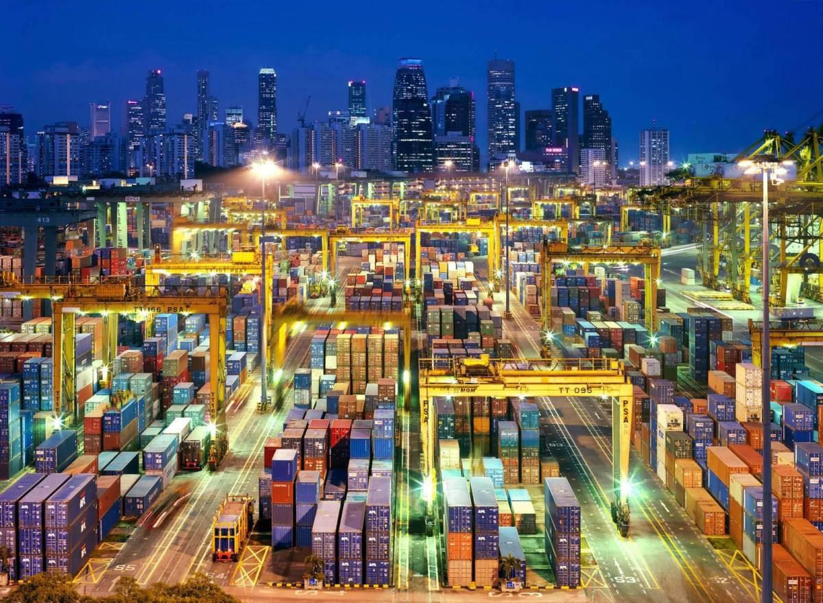Top 10 maiores portos do mundo