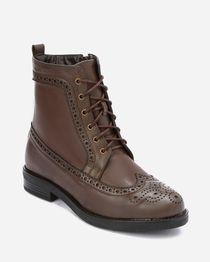 Half Boots - Brown