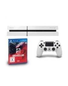 PlayStation 4 - 500GB - White + DriveClub Game