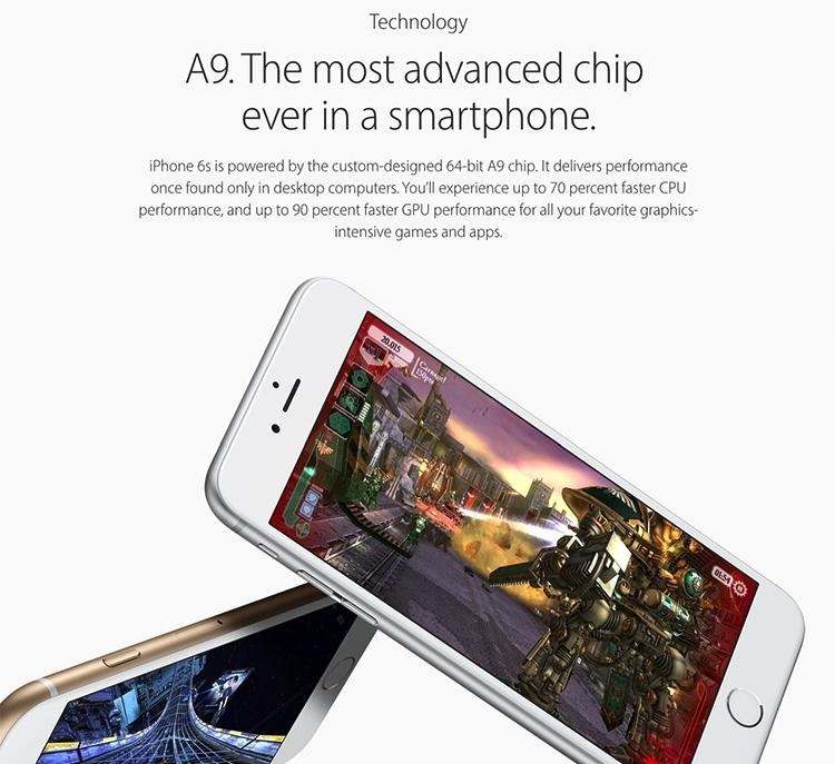 44efa06aeb454cd6893bd6d878c51bc8 Apple IPhone 6S Plus 128GB Smartphone   Silver