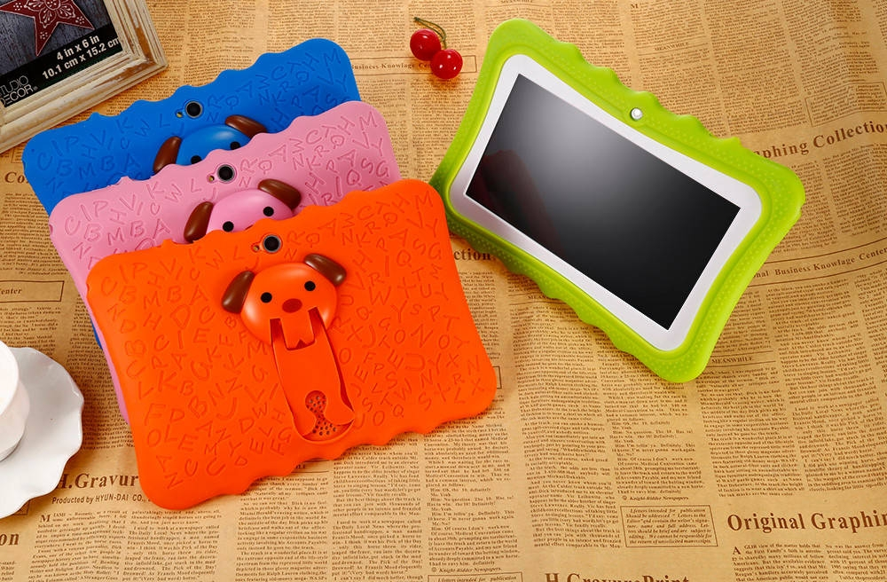 4fdd9dec47c819062663fafc38a77660 BDF Q768   7 Kids Tablet PC Android 4.4 512MB/8GB 0.3MP OTG G Sensor EU   Orange