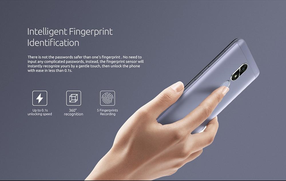 7a38abd734aaef65cee9865a11e8c00d Cubot R9   5 2600mAh With Case 2GB/16GB Fingerprint Android 7.0 EU   Blue
