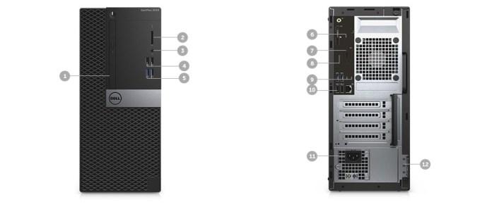 Dell OptiPlex 3040 MiniTower Desktop   Intel Core I3 6100, 500GB, 4GB, DOS price in nigeria