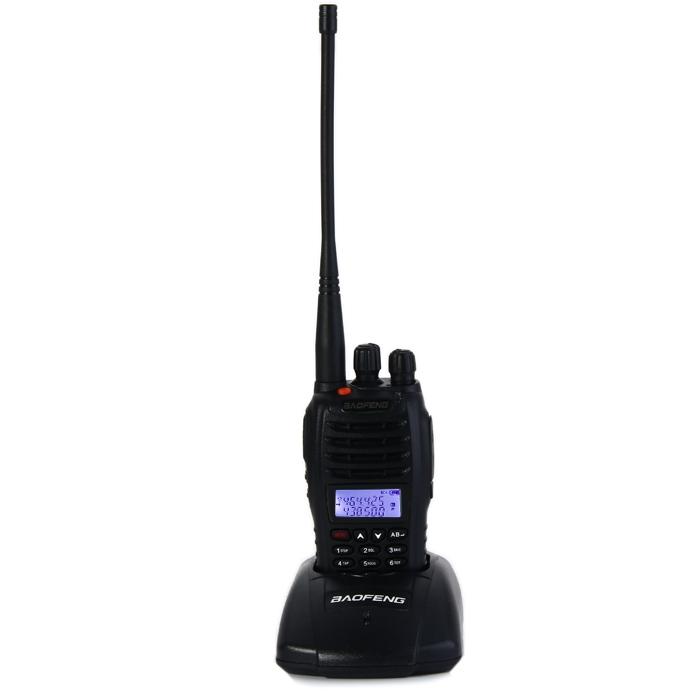 Elikang BAOFENG UV B5 UHF / VHF Walkie Talkie 99 Channel Transceiver   BLACK price in Nigeria
