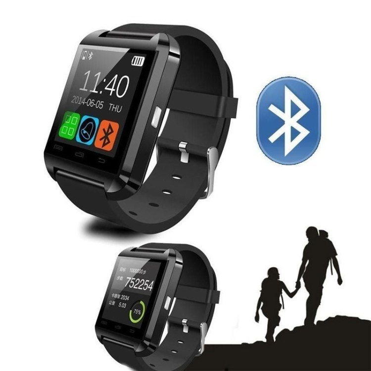 Fashion Smartwatch U8 Uwatch Bluetooth Touch Screen Smart Watch For Android Phone (Black) price on jumia Nigeria via specspricereview.com