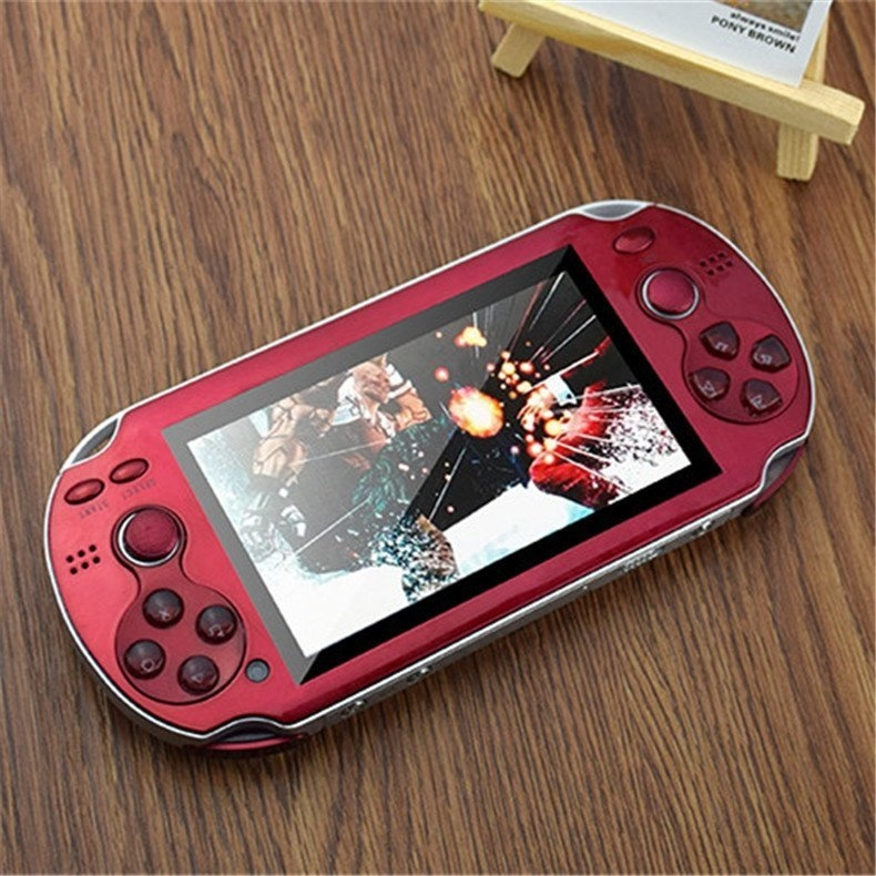 5f3a3719a8f85672bec86d617cac77ef Generic 4.3 Inch Handheld Game Players Double Rocker Real 8GB Video Game Console Support TV Out Built In Hundred GBA NES SEGA Games(Black)