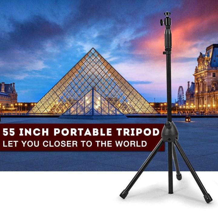 Generic V2 Portable Tripod 55 Inch Holder For Mini Projector Camera BLACK price in Nigeria