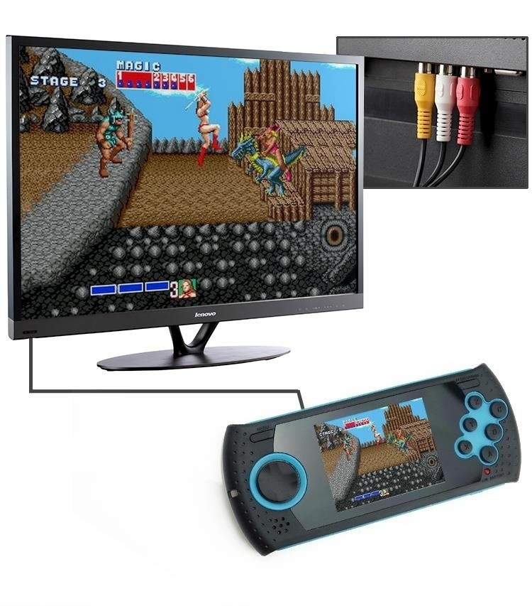 Generic Portable 3 Inch 16 Bit Handheld Game Console Players Build In 100 Classic Game PVP PXP MP3 MP4 Game Player Gift For Kids price in Nigeria