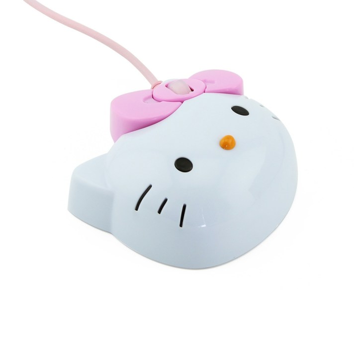 Generic Hot Sale Design Kitty Wired Optical Mouse Pink Hello Kitty Gaming Mouse Mause For Girl Gift Laptop Notebook Computer Mice Mouse(White) price in Nigeria