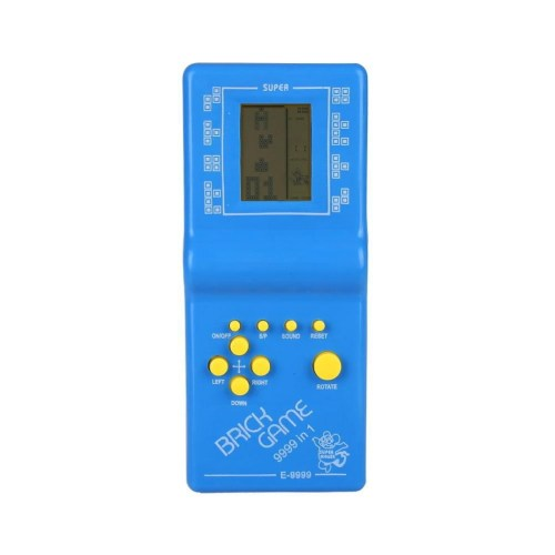 672ae54ac5c04322c7b2433e76436083 Generic Classic Tetris Hand Held LCD Electronic Game Toy Fun Brick Game Riddle Toys