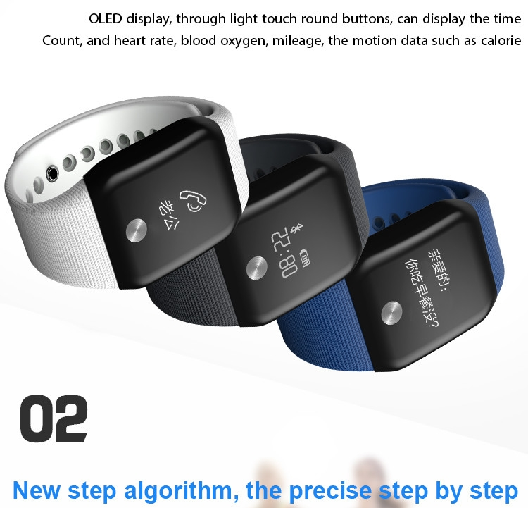 Generic A88 Smart Watch Heart Rate Monitor Sleep Waterproof Wristband(Black) price in nigeria