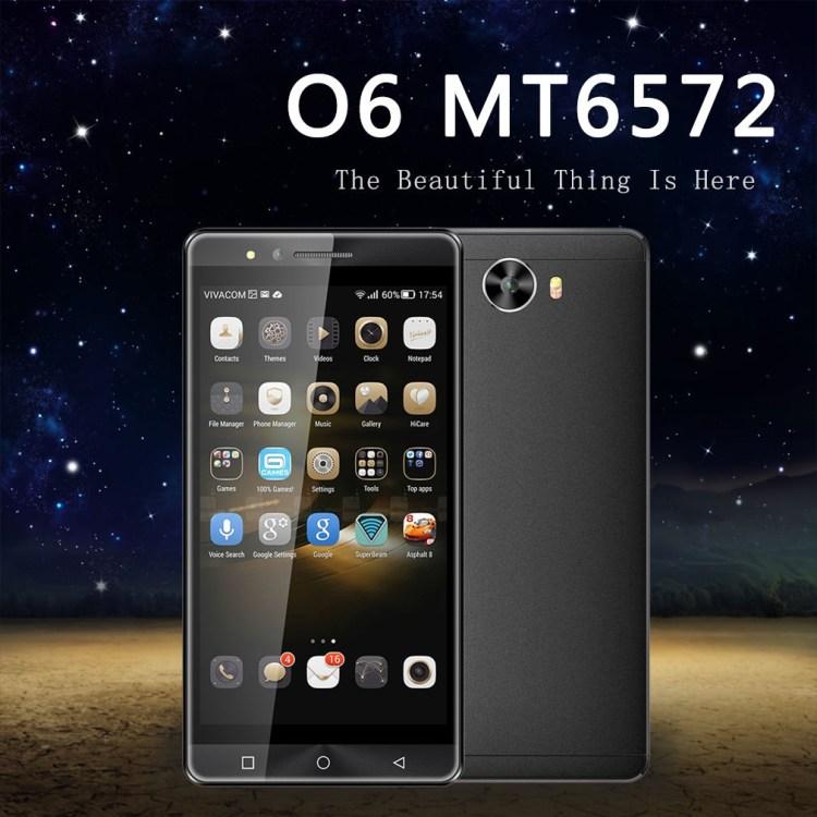 DUAI O6 MT6572 Dual Core 1.2Ghz Processor 5 Inch QHD IPS LCD 960*540 Smart Phone black price on jumia Nigeria via specspricereview.com