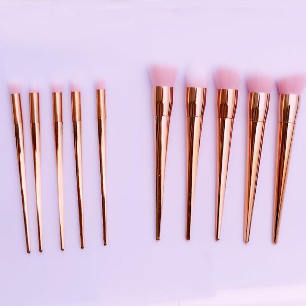8d67a4ffa5d6b4815556953c87123beb Generic Eastman 10 PCS Makeup Brushes Powder Concealer Blush Liquid Foundation Make Up Eyeshadow Stylish