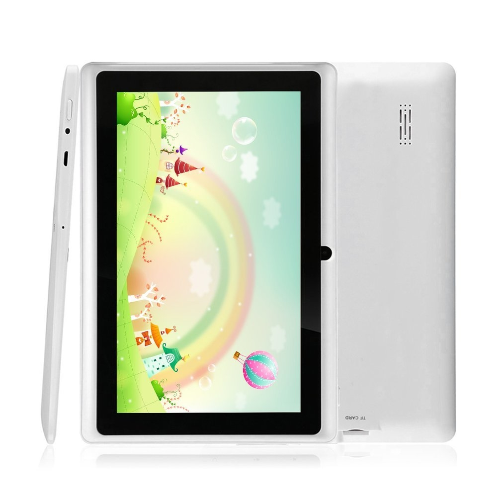 2a6db7c8d7c7cb974fa2408c4472b2b7 Generic 7 Q88 A33 Quad Core 512MB/8GB Android Kids Tablet With HD Screen Dual Camera white