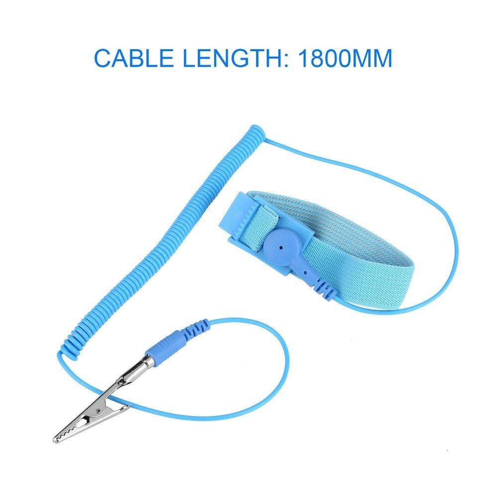 fc8eb28c5403367b557a5c110f2e65fc Generic Home Anti Static ESD Wrist Strap Discharge Band Grounding Prevent Static Shock*