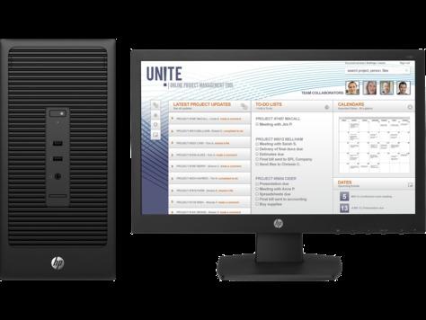 HP 290 G1, INTEL DUAL CORE, 500GB HDD, 4GB RAM, 18.5 TFT MONITOR, No Windows price in Nigeria