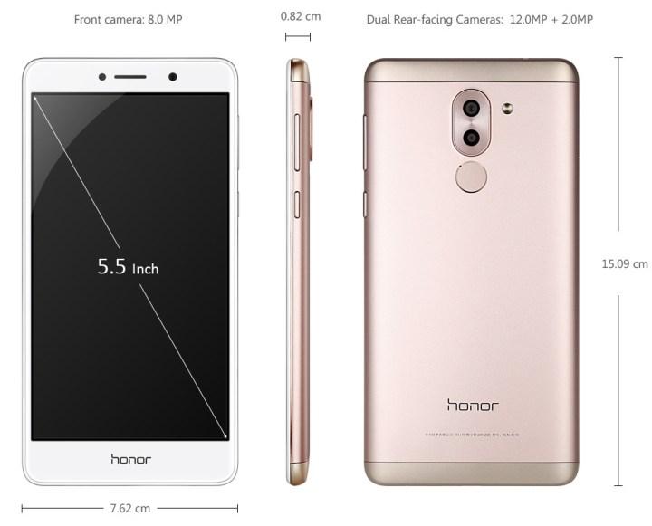 Huawei Huawei Honor 6X 5.5 Inch Android 6.0 4G Smartphone Kirin 655 Octa Core 2.1GHz 4GB RAM 64GB ROM Dual Rear Cameras Fingerprint Sensor Bluetooth 4.1 price in Nigeria