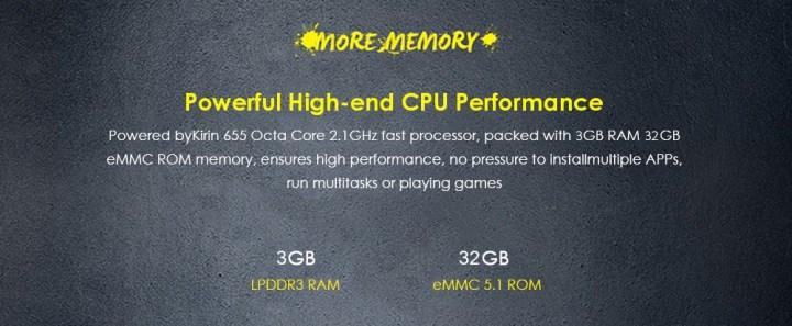 Huawei Huawei Honor 6X 5.5 Inch 4G Smartphone Kirin 655 Octa Core 3GB RAM 32GB ROM Dual Rear Cameras Fingerprint Sensor SILVER price in Nigeria