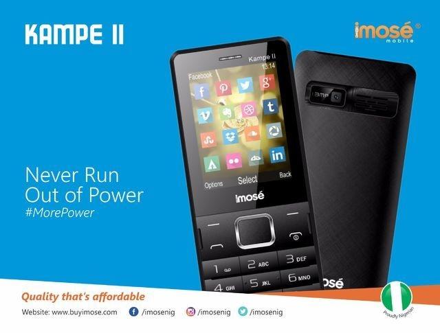 iMose Kampe II 5,000 MAh Power Bank/Dual SIM GSM Phone + Wireless FM Radio   Black price on jumia Nigeria via specspricereview.com