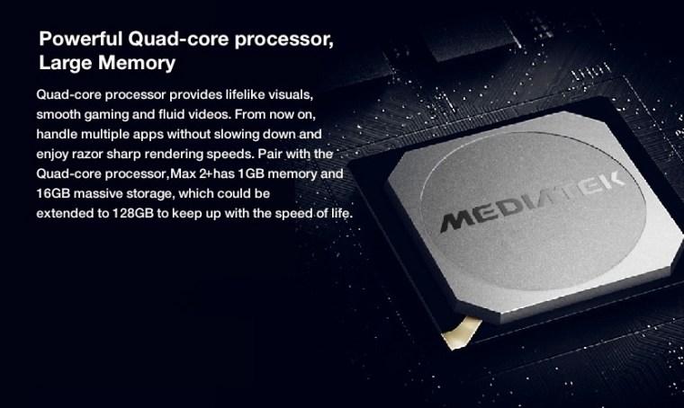 Innjoo Max 2 Plus Processor
