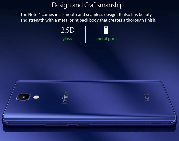 534e362b955dc6a0f332d07d515f9e13 Infinix Infinix X572 Note 4   5.7   16GB   4G Mobile Phone   Milan Black