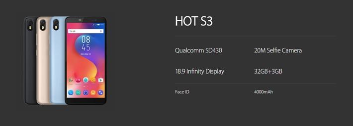 4c164a16d1b0b5350ed0c54d259b304d Infinix Hot S3 (X573) 5.65  Inch IPS (3GB RAM, 32GB ROM) Android 8.0 Oreo (20MP + 13MP) Dual Sim 4G LTE Smartphone   Topaz Blue