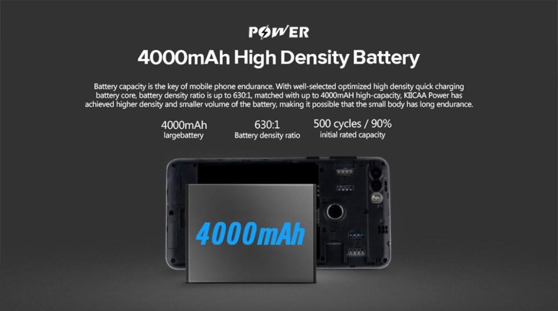 3fc3734a2ecf849ee5ceafeb83c3eeca Leagoo KIICAA POWER   5.0  3G (2GB RAM, 16GB ROM) Android 7.0 Nougat, 8MP+5MP+5MP, Dual Sim Smartphone Black