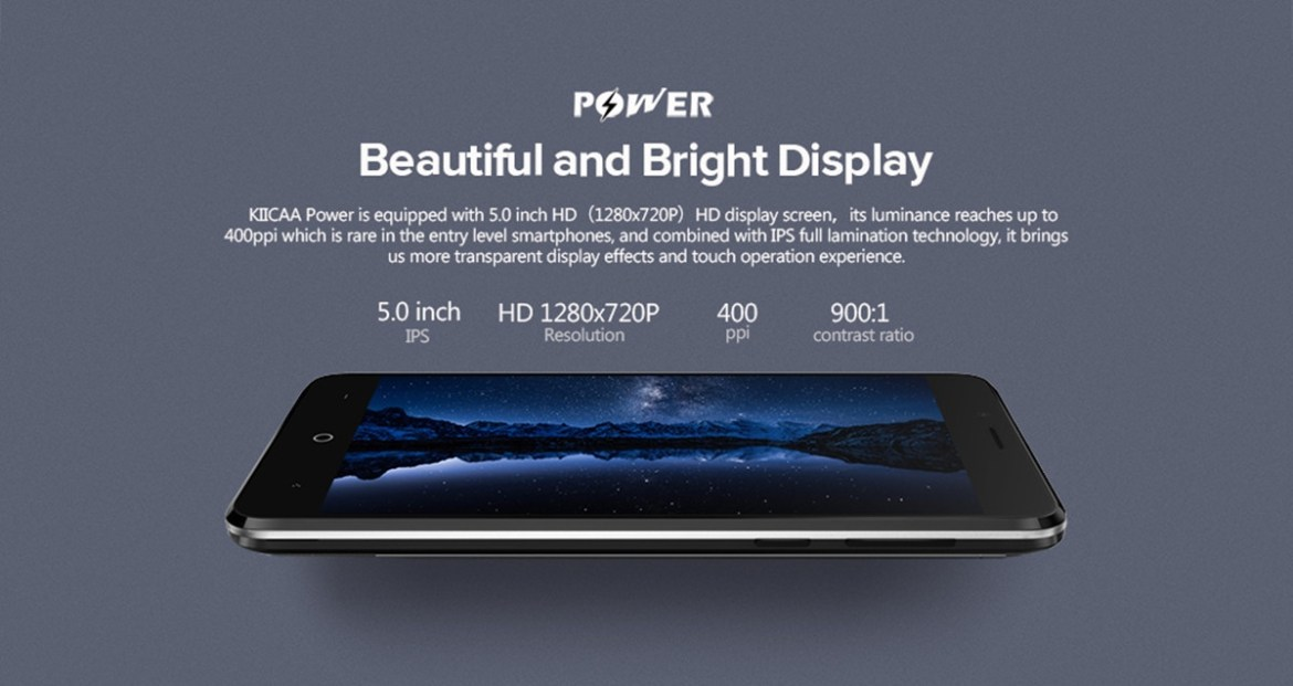 4238217f6a4101237e7cd062530ad45e Leagoo KIICAA POWER   5.0  3G (2GB RAM, 16GB ROM) Android 7.0 Nougat, 8MP+5MP+5MP, Dual Sim Smartphone Black