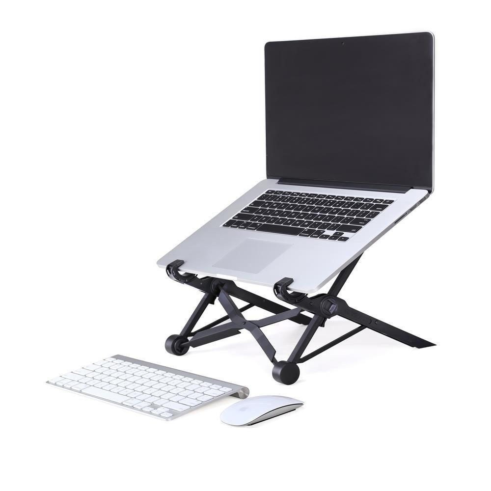382d420657b6912f86583fab15c4c9d6 Louis Will Portable Laptop Stand With Storage Bag   KOBWA Travel Foldable Adjustable Notebook Holder Eye Level Ergonomic Lightweight Compact Universal Fit For PC Macbook