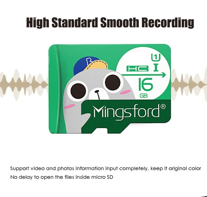 Mingsford Mingsford 16GB High Speed Micro SD / TF Card GREEN price in Nigeria