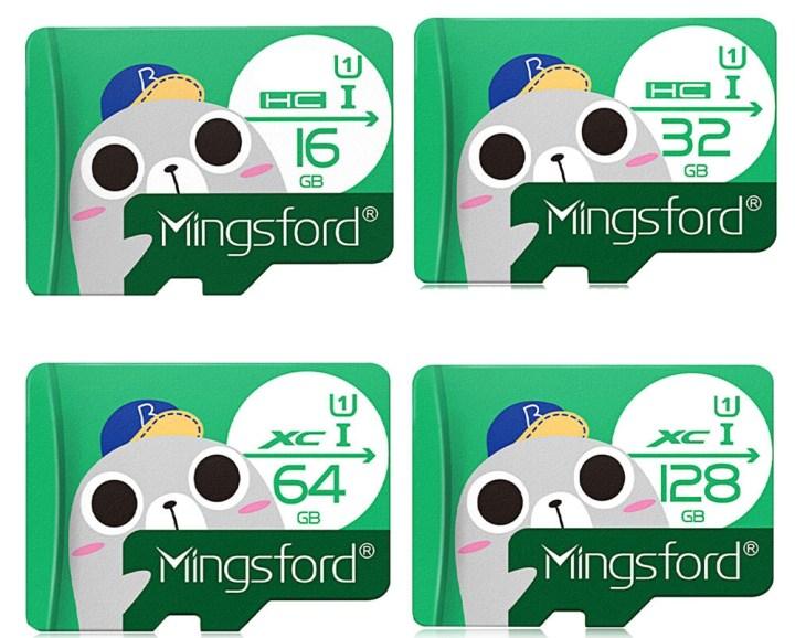Mingsford Mingsford 16GB High Speed Micro SD / TF Card GREEN price in Nigeria